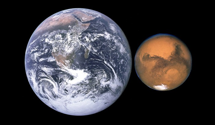 Mars-Earth-size-comparison