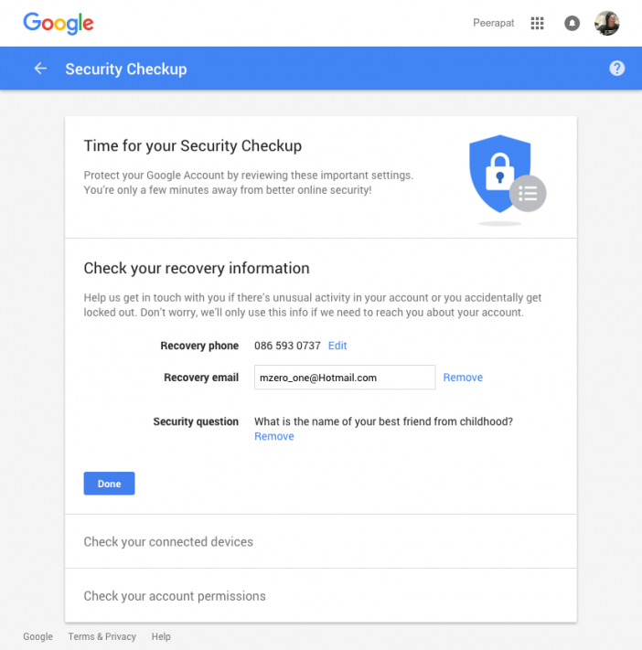 google-drive-security-checkup