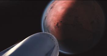 อีลอน มัสค์ ( Elon Musk ) เปิดตัวจรวดไปดาวอังคารและระบบขนส่งระหว่างดาวเคราะห์ของ SpaceX