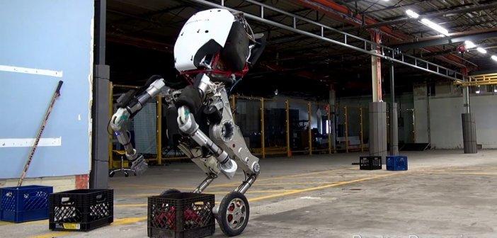 Boston Dynamics เปิดตัวหุ่นยนต์รุ่นใหม่ Handle กระโดดสูง 4 ฟุต