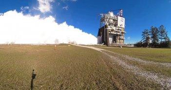 nasa mars rocket tests in 360 degree video