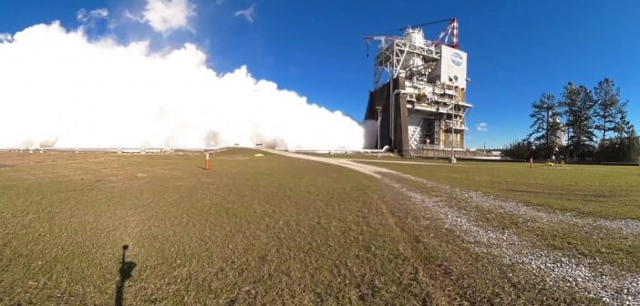 nasa mars rocket tests in 360 degree video