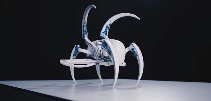 หุ่นยนต์แมงมุม BionicWheelBot เทคโนโลยีการเคลื่อนที่แบบใหม่ของหุ่นยนต์