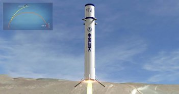 China reusable space rockets in 2020