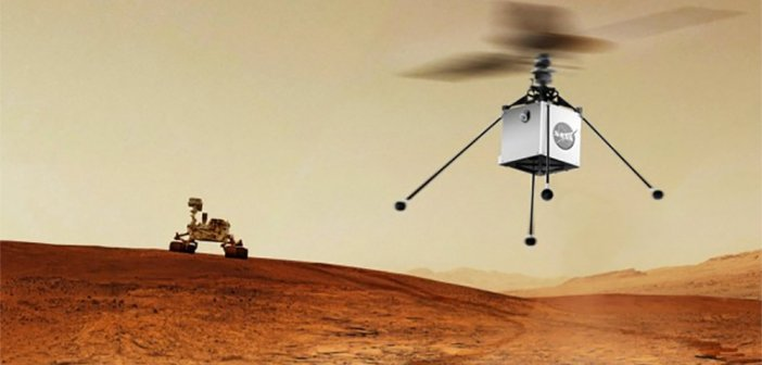 Mars Helicopter to Fly on NASA's Next Red Planet Rover Mission
