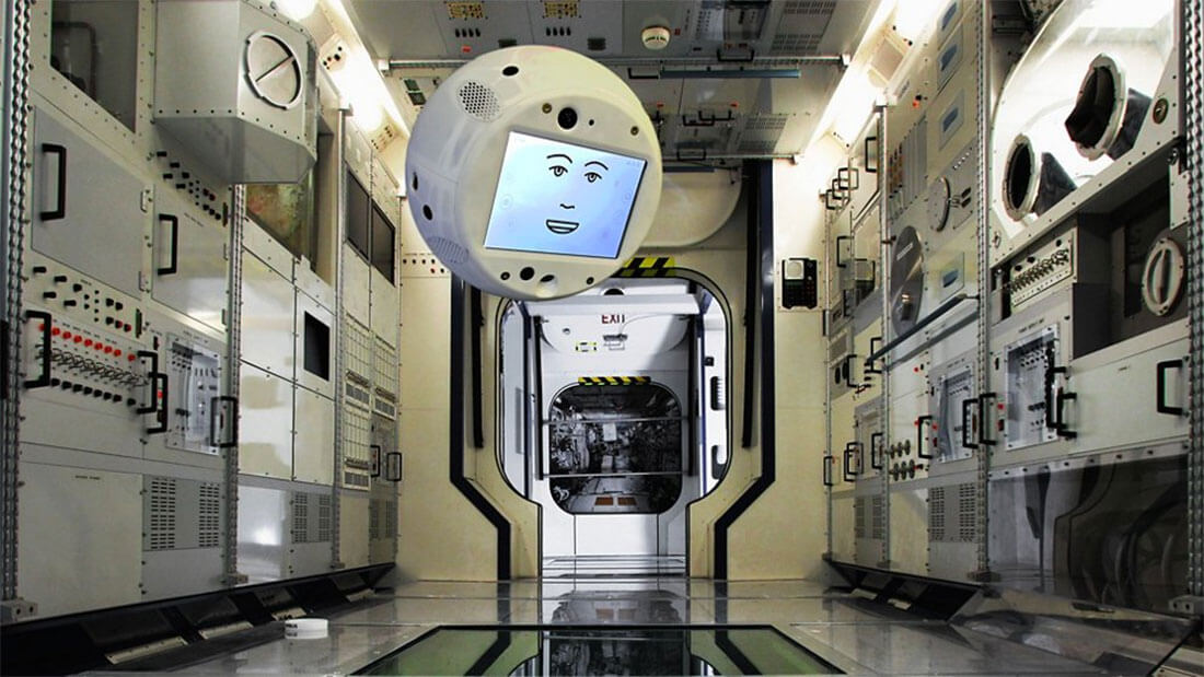 CIMON Artificial intelligence ISS Mission