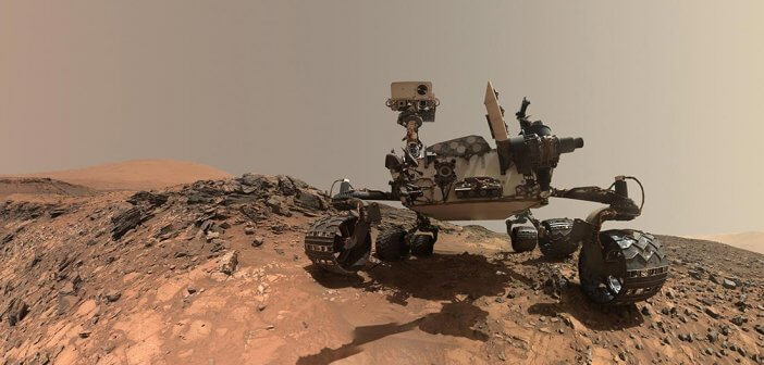 Curiosity Mars Rover ที่มาของภาพ NASA/JPL-Caltech/MSSS