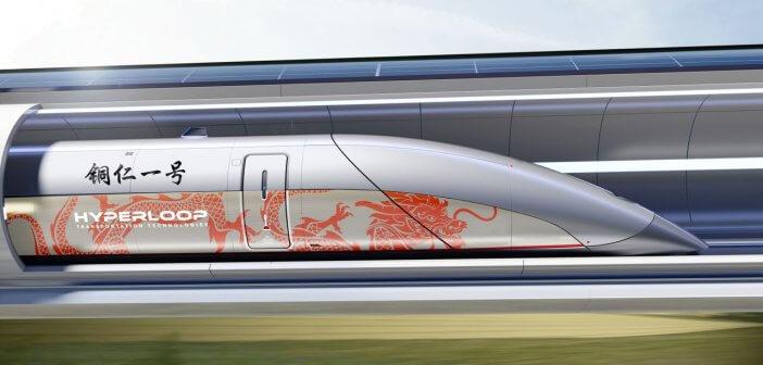 Hyperloop Transportation Technologies in China