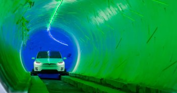boring-company-hawthorne-tunnel-test-drive-tesla-model-x