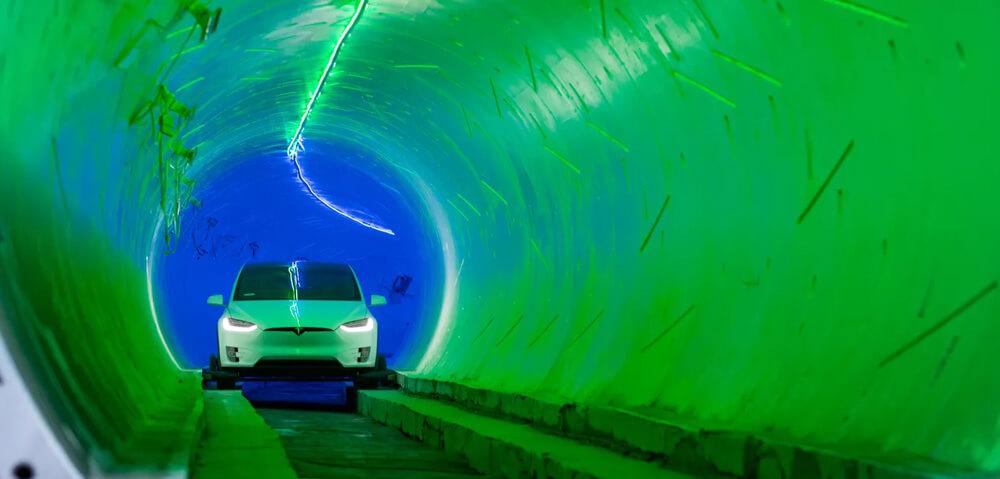 boring-company-hawthorne-tunnel-test-drive-tesla-model-x