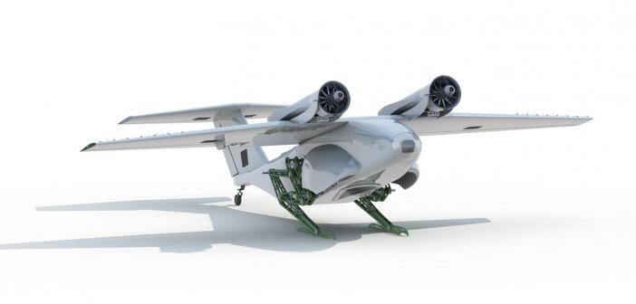 โดรน Sparrow ปฏิวัติวิธีการขึ้นบินแบบใหม่ด้วยการกระโดดคล้ายนกกระจอก